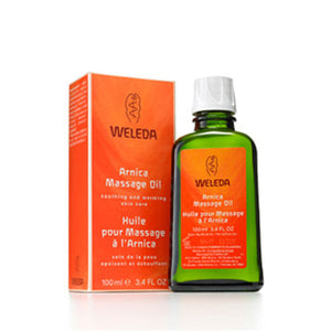 Massage Oil Arnica 3.4 FL Oz by Weleda