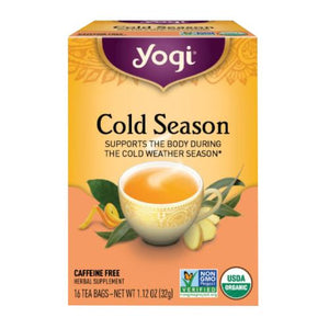 Yogi Tea- Cold Season  16 Bags by Yogi