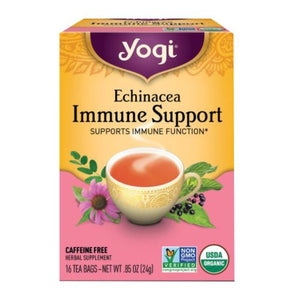 Echinacea Immune Support Tea - 16 Bags