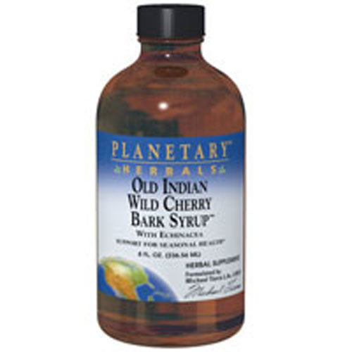 Old Indian Wild Cherry Bark Syrup 8 oz by Planetary Herbals