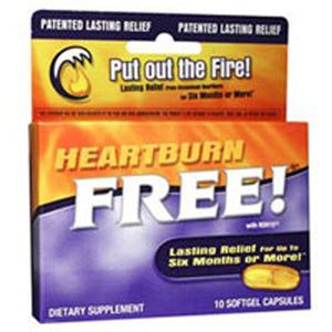 HeartBurn Free - 10 Caps