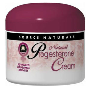 Progesterone Cream - 2 Oz