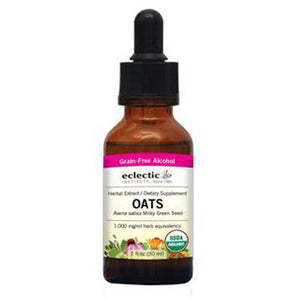 Oats 1 Oz with Alcohol by Eclectic Institute Inc