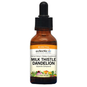 Milk Thistle - Dandelion - 1 Oz Alcohol free
