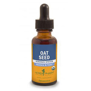 Oat Seed Extract 1 Oz by Herb Pharm
