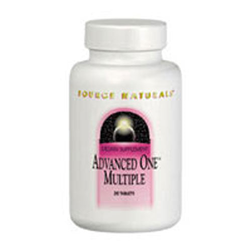 Advanced-One Multiple 30 Tabs by Source Naturals