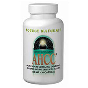 AHCC with BioPerine with Bioperine 30 Caps by Source Naturals