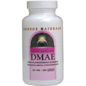 Dmae Capsules 200 Caps by Source Naturals