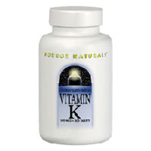 Vitamin K 100 Tabs by Source Naturals