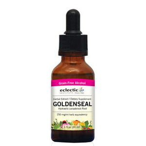 Goldenseal - 2 Oz with Alcohol
