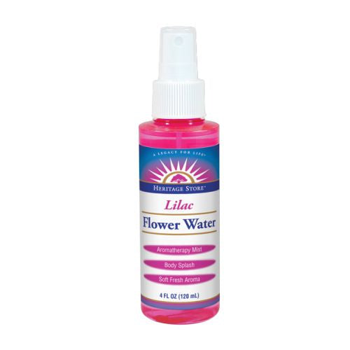 Flower Water - LILAC ATOMIZER, 4 OZ