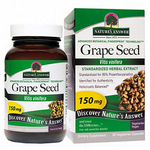 Grape Seed Standardized - 60 Vcaps