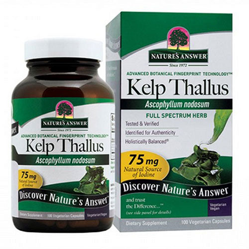 Kelp Thallus 100 Caps by Nature's Answer