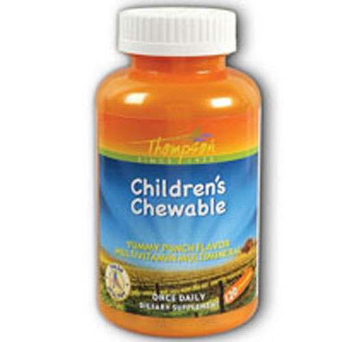 Multi Vitiamin/Mineral - Children's Chewable Punch 120 Tabs