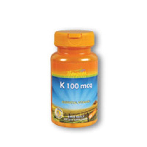Vitamin K 30 Caps by Thompson Considered as Dietary SupplementEssential Vitamin Fresh  Healthy Once Daily Since 1932