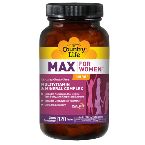 Maxine Maxi-Sorb The Maximized Feminine Formulation - 120 Tabs