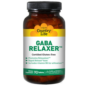 Relaxer with GABA + B-6 RR - 90 Tabs