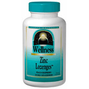 Wellness Zinc Lozenges 60 Tabs by Source Naturals
