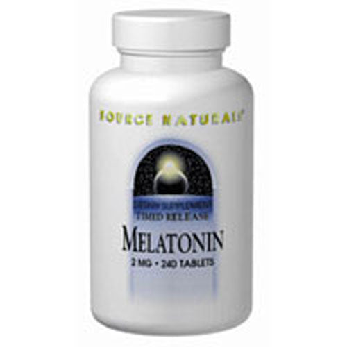 Melatonin Timed Release 240 Tabs by Source Naturals
