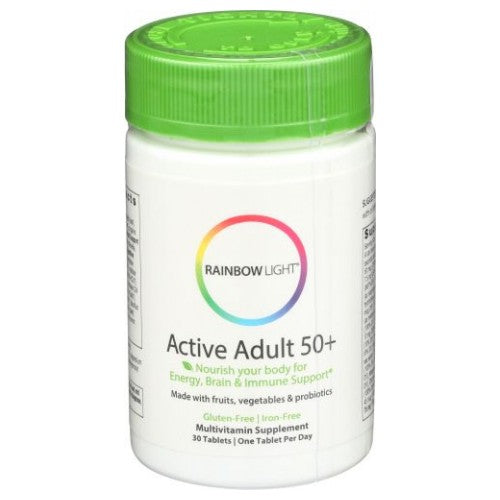 Active Adult 50+ Multivitamin - 30 Tabs