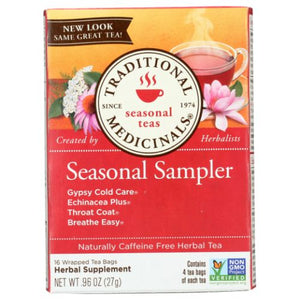 Seasonal Sampler Teas - 16 Bags