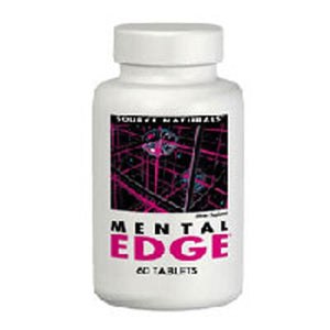 Mental Edge 30 Tabs by Source Naturals