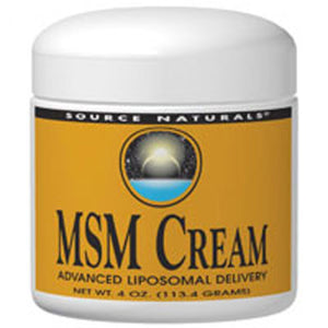 MSM Joint Response Cream 4 Oz