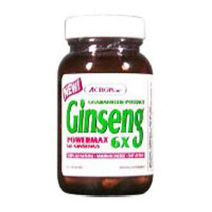 Ginseng Power Max - 6X, 50 Caps