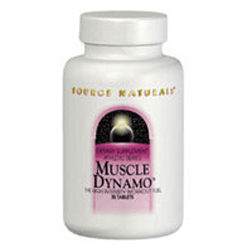 Muscle Dynamo 30 Tabs by Source Naturals Dietary Supplement Athletic Series The High Intensity Workout Fuel