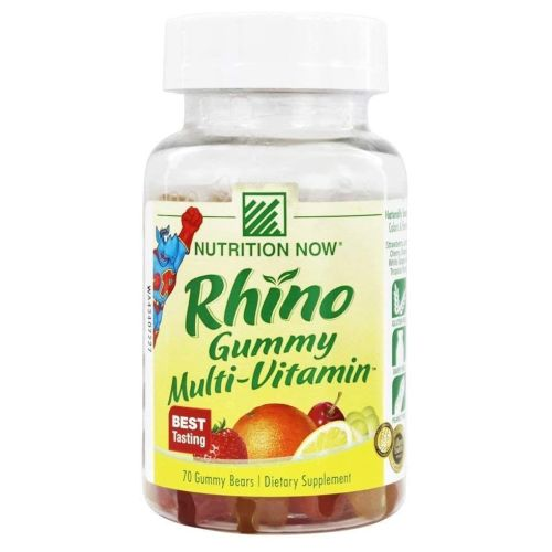 Rhino Gummy Bear - Vitamins 70 Chews
