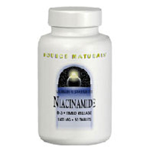 Niacinamide B-3 100 Tabs by Source Naturals