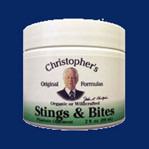 Stings & Bites (Ointment Plantain) 2 OZ by Dr. Christophers Formulas