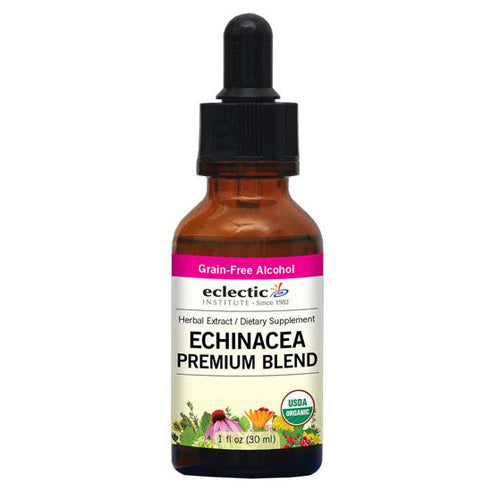 Echinacea Premium Blend 1 Oz with Alcohol by Eclectic Institute Inc