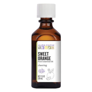 Essential Oil Orange Sweet (citrus sinensis) 2OZ by Aura Cacia