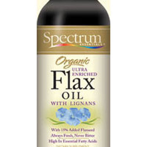 Flax Oil OG,ULTRA ENRICHED WITH LIGNANS, 16 OZ