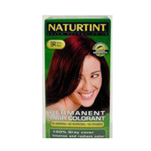 Fire Red (9r) 5.6 oz by Naturtint Permanent Hair Colorant with Vegetable Ingredients Enjoy the natural secret of beautiful, healthy hair. Naturtint possesses an exclusive and revolutionary formula combining the guarantee of a permanent hair colorant with the benefits of natural herbal and cereal ingredients.Natural Features: Naturtint contains no ammonia. It is enriched with soy and coconut derivatives, as a subtle blend of oat, soy, corn and wheat extracts which gently complement the hair coloring process while the rosemary and eucalyptus essential oils in the Hair Conditioner secure a fresh, healthy and silky shine on the hair.Natural Look: Naturtint covers all normal grey hair from the very first application yet is gentle on even permed or the most fragile hair. Its vegetable ingredients help to nourish, protect, moisturise and restructure the hair bestowing a rich, radiant and long-lasting color, volume and shine.Natural Value: Naturtint is easy to use and its results are gentle and effective to observe. Simply shake the mixture and apply to the hair.Natural Quality: Naturtint is dermatologically tested and contains pharmaceutically conrolled ingredients of the very highest cosmetic quality.The color may vary from the image above!Does Not Contain No ammonia.Naturtint Hair Color includes the NaturTint, Color Developer, Hair Conditioner, Gloves & Instructions.Cautions These products contain ingredients which may cause skin irritation or allergic reaction on certain individuals and a preliminary sensitive test should be made according to accompanying instructions. Contains phenylenediamines & hydrogen peroxide. Not to be used for dyeing eyelashes or eye brows, may cause blindness. Avoid contact with eyes. Wear enclosed gloves & rinse hair after application.Will Naturtint Permanent Hair Colorant really cover Grey Hair?Yes, Naturtint Permanent Hair Colorant covers all normal grey hair from the very first applicationIs Naturtint Permanent Hair Colorant going to damage my hair?No, Naturtint Permanent H