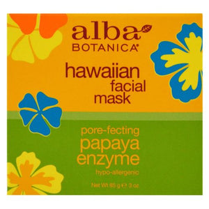 Hawaiian Papaya Enzyme Facial Mask 3 oz by Alba Botanica
