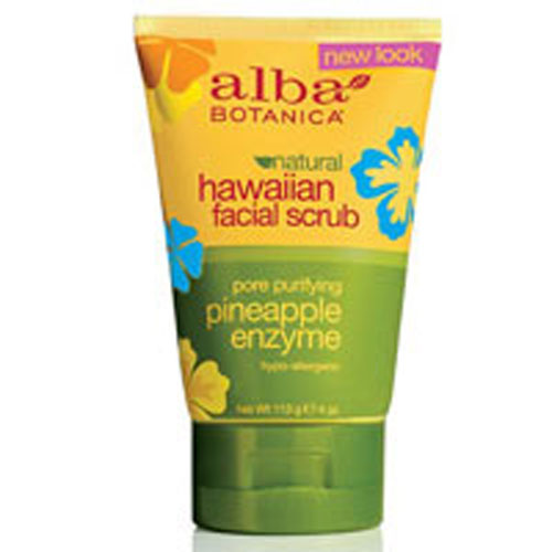 Hawaiian Pineapple Enzyme Facial Scrub - 4 oz