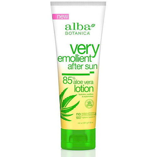 Very Emollient After Sun Lotion 85% Aloe Vera - 8 oz