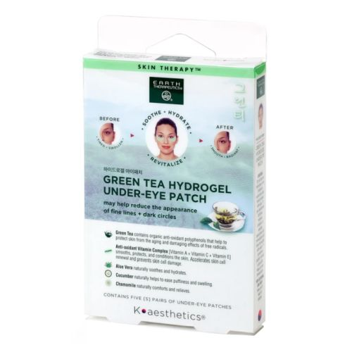 Hydrogel Under-eye Recovery Patch 1 EACH (5 Pairs) by Earth Therapeutics Earth Therapeutics Rx3 Series has everything from eye pillow and nose strips to hand lotion and salt scrubs. There is everything that you would need for a head to toe relaxing evening at home. .