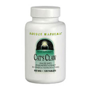 Cat's Claw 30 Tabs by Source Naturals