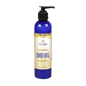 Emu Oil Certified Pure Grade A Extra Strength - 8 oz