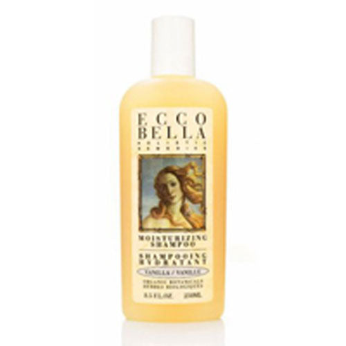 Hair & Scalp Therapy Shampoo 8.5 oz by Ecco Bella Botanicals The Safe Shopper's Bible gives this shampoo and conditioner its highest rating in the dandruff shampoo category. Essential oils of neem and green tea help relieve the itching and flaking.. . . . A luxurious shampoo and hair conditioner that also relieves the itchy, flaky scalp problem that plagues us. They contain no chemicals that may cause irritation, instead we use Neem, a herbal therapy from the neem tree in India, referred to as the village pharmacy for its ability to improve the condition of the scalp. Neem is a traditional antibacterial and antifungal that relieves all types of skin ailments. Also, Organic safflower oil and soy proteins provide protection & body. Biotin, inositol and panthenol are B vitamins that improve hair flexibility, helps avoid blow-drying damage and reduce split ends. Glycerine plumps and smoothes, organic herbs beautify and protect. Essential oils of cedarwood, fir, rosemary, lavender, juniper, ginger rev up the roots, balance, and deep cleanse.Its PH is 5.5 for superior condit