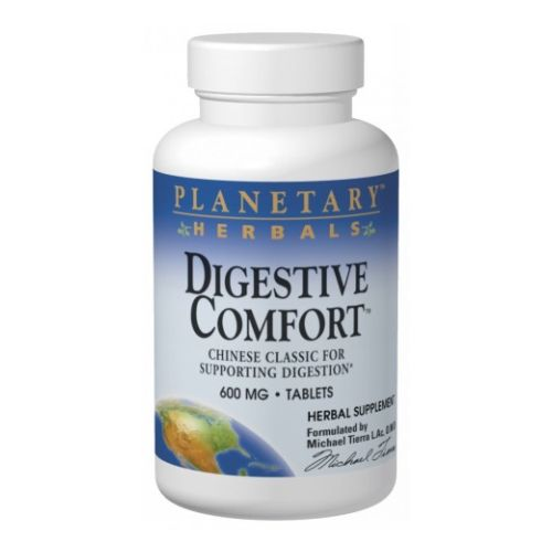 Digestive Comfort 120 Tabs by Planetary Herbals