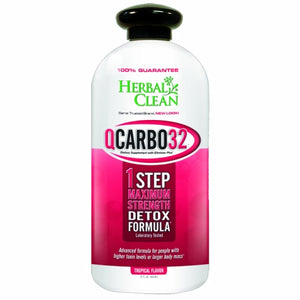 QCarbo Fast Cleansing Drink Tropical 32 OZ by BNG Enterprises/Herbal Clean