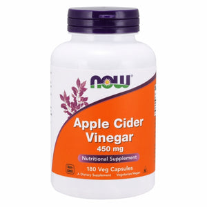 Apple Cider Vinegar 180 Caps by Now Foods