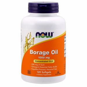 Borage Oil - 120 Sgels