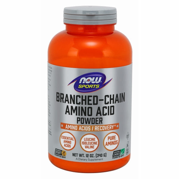 Branch Chain Amino 12 OZ by Now Foods Leucine, Isoleucine and Valine come under the category of the Branched Chain Amino Acids (BCAAs). These are important amino acids, and cannot be made in the body. BCAAs help in muscle protein synthesis. BCAAs can be used to help during exercise by athletes and regular people, BCAA supplementation can help to preserve existing muscle tissue. BCAAs can support the recovery process by promoting the standard repair processes that take place after exertion.* BCAAs also play an essential role in the maintenance of proper immune system function and the support of healthy aging.*Benefits:Non-GMODietary supplementHelps with muscle protein synthesisCan be used by athletesHelps to maintain proper immune functionNail Brush Green Sprouts