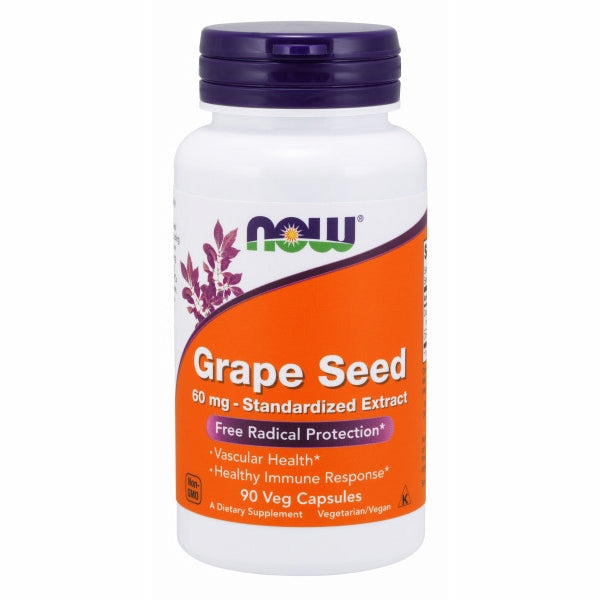 Grape Seed 90 Caps by Now Foods