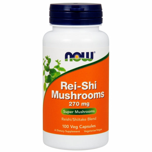Rei-Shi Mushrooms 100 Caps by Now Foods